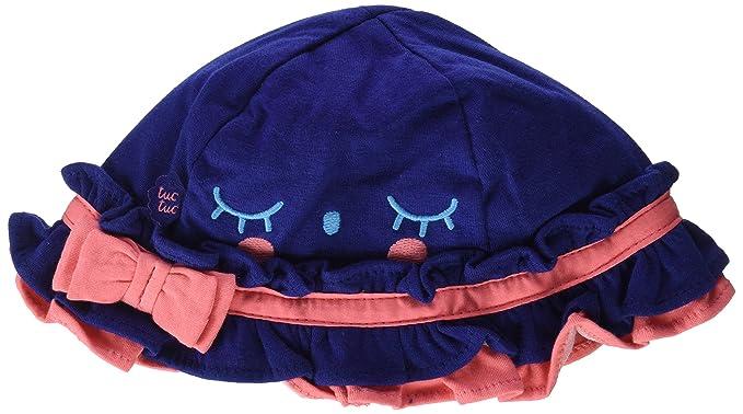 Tuc Tuc Baby Sailor Gorra, Bebé-Niñas, Azul (Marino), 49