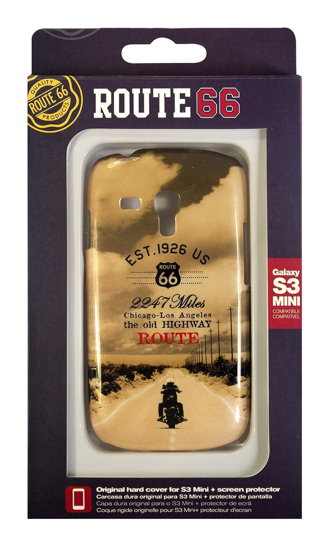 Amazon.com: Fonexion Route 66 Moto Case for Samsung S3 Mini ...