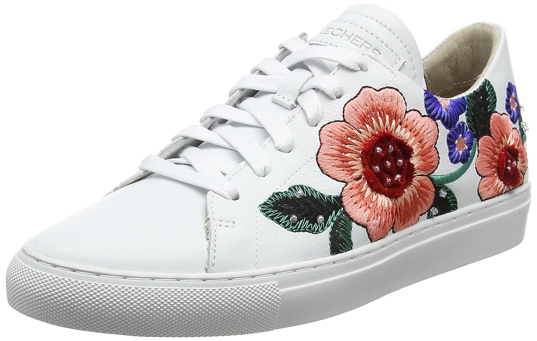 Skechers Women's Vaso-Flor B01MZ8LH2B 9.5 B(M) US|White