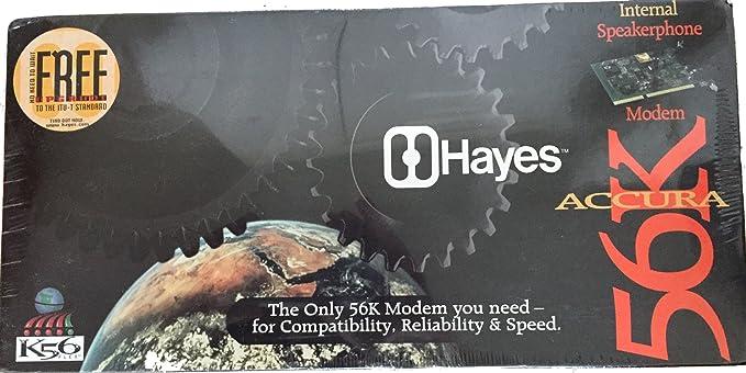 HAYES ACCURA 56K SPEAKERPHONE WINDOWS DRIVER