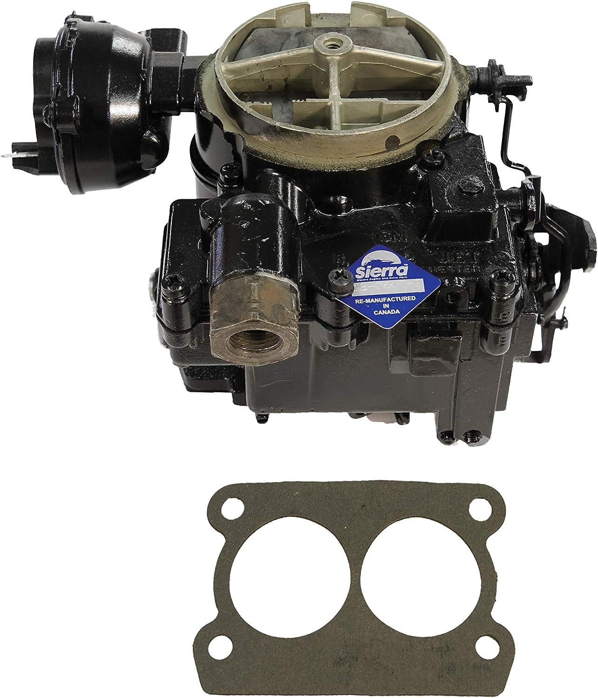 Sierra 18-7611-2 Remanufactured, 2-Barrel, Rochester Carburetor
