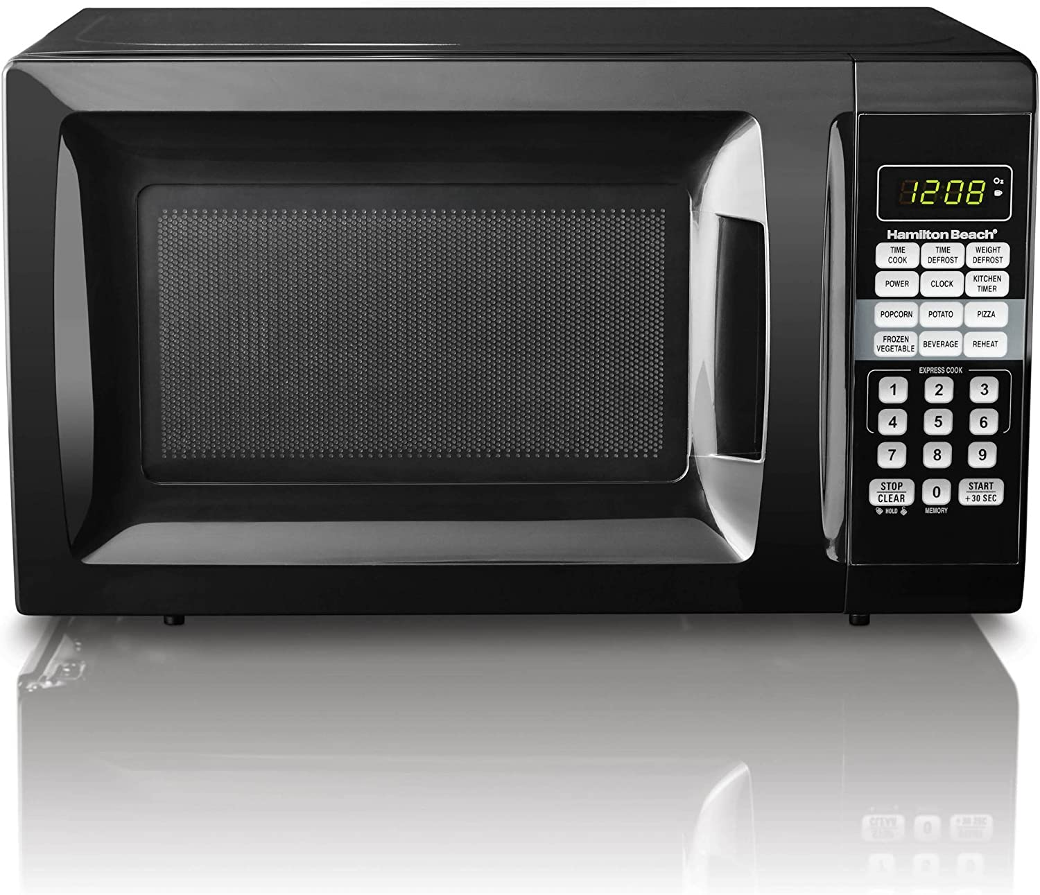 Amazon.com: Hamilton Beach 0,7 Cu pies Horno de ...