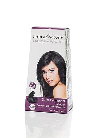 Coloration semi permanente cheveux noir