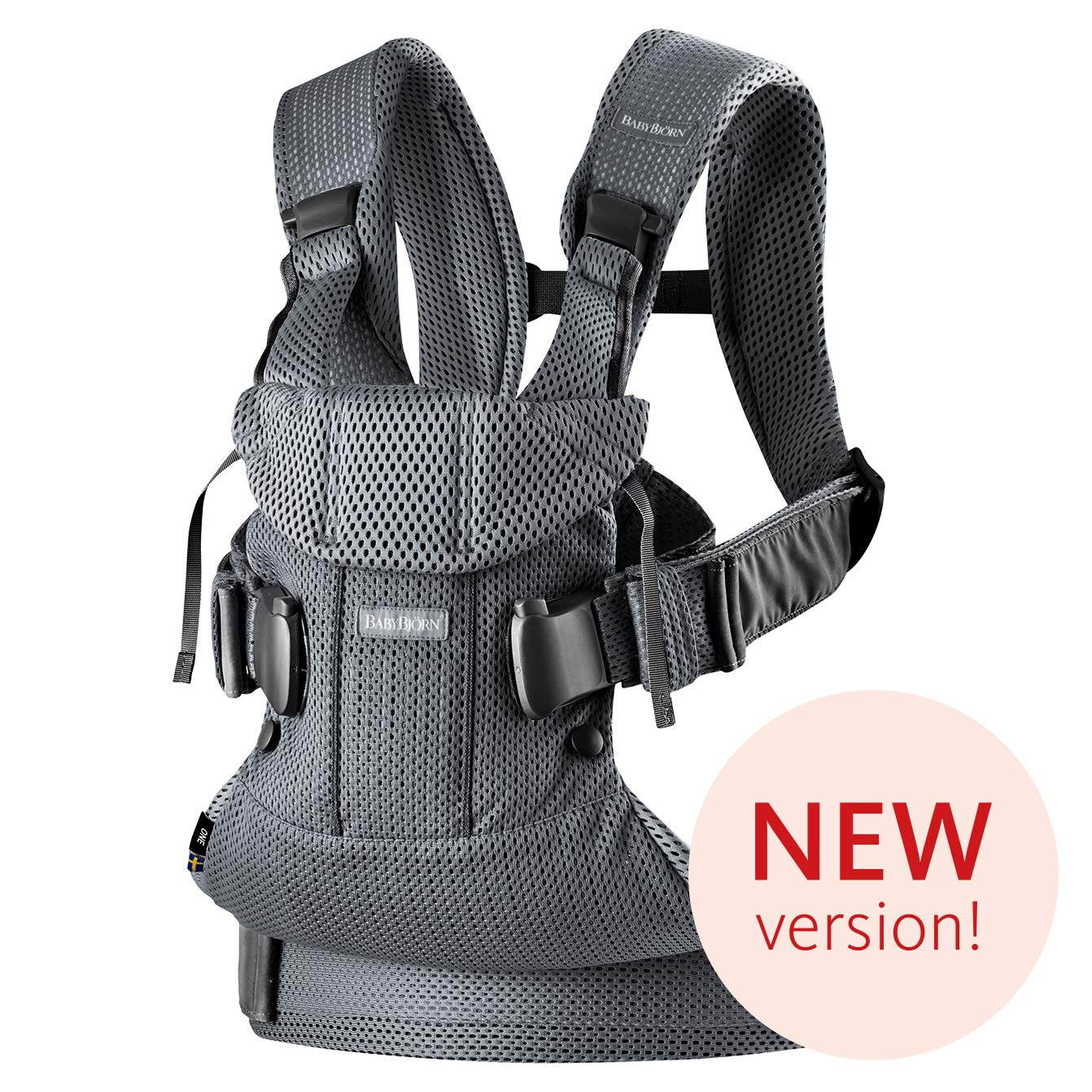 Babybjorn Baby Carrier One Air 3d Mesh Anthracite 2018 Edition