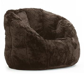 Superieur Amazon.com: Cocoon Faux Fur Bean Bag Chair, Multiple Colors: Kitchen U0026  Dining