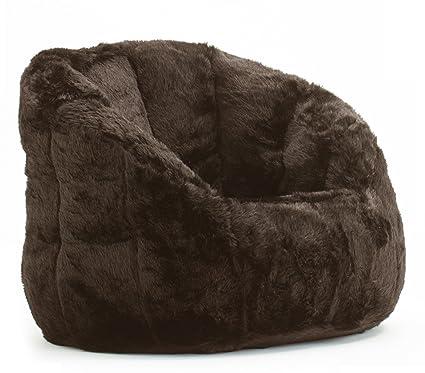 Etonnant Cocoon Faux Fur Bean Bag Chair, Multiple Colors