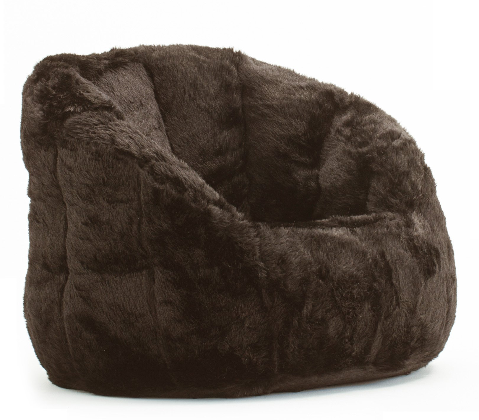 Cocoon Faux Fur Bean Bag Chair, Multiple Colors by Urban Shop