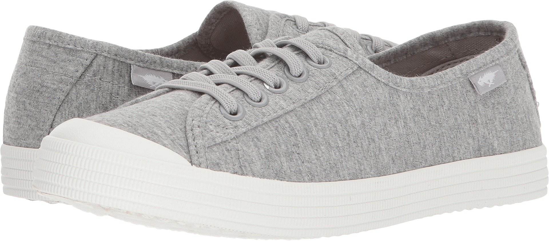 Rocket Dog Women's Chowchow Summer Jersey Cotton Sneaker, Light Grey, 9.5 Medium US