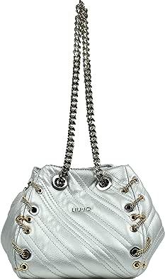 Liu Jo Donna Borsa Silver Mod. LIUAF0111 E0002