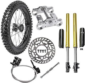 Front Disc Brake Master Cylinder Caliper for Pit Dirt Bike CRF50 XR50 Thumpstar