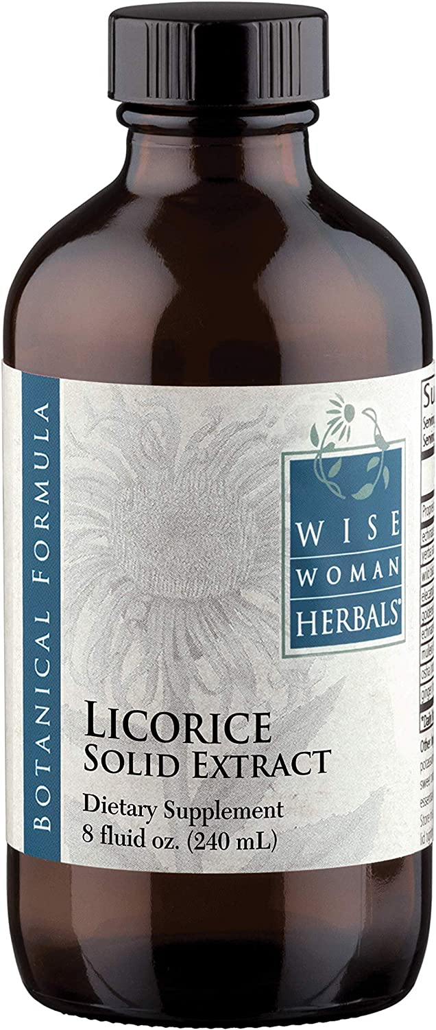 Wise Woman Herbals Licorice Solid Extract 8 oz – for Immune Support – Promotes Normal Healthy Liver and Adrenal Gland Function Supports Digestive Health, Upset Stomach and Indigestion