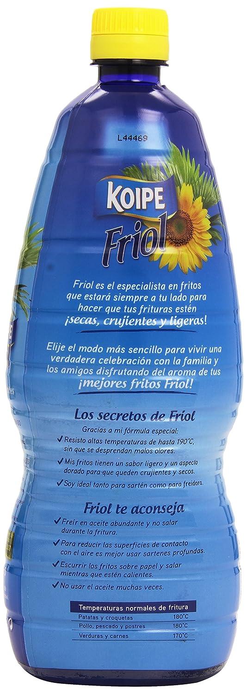 Koipe - Friol - Aceite de girasol - 1 l: Amazon.es: Alimentación y bebidas