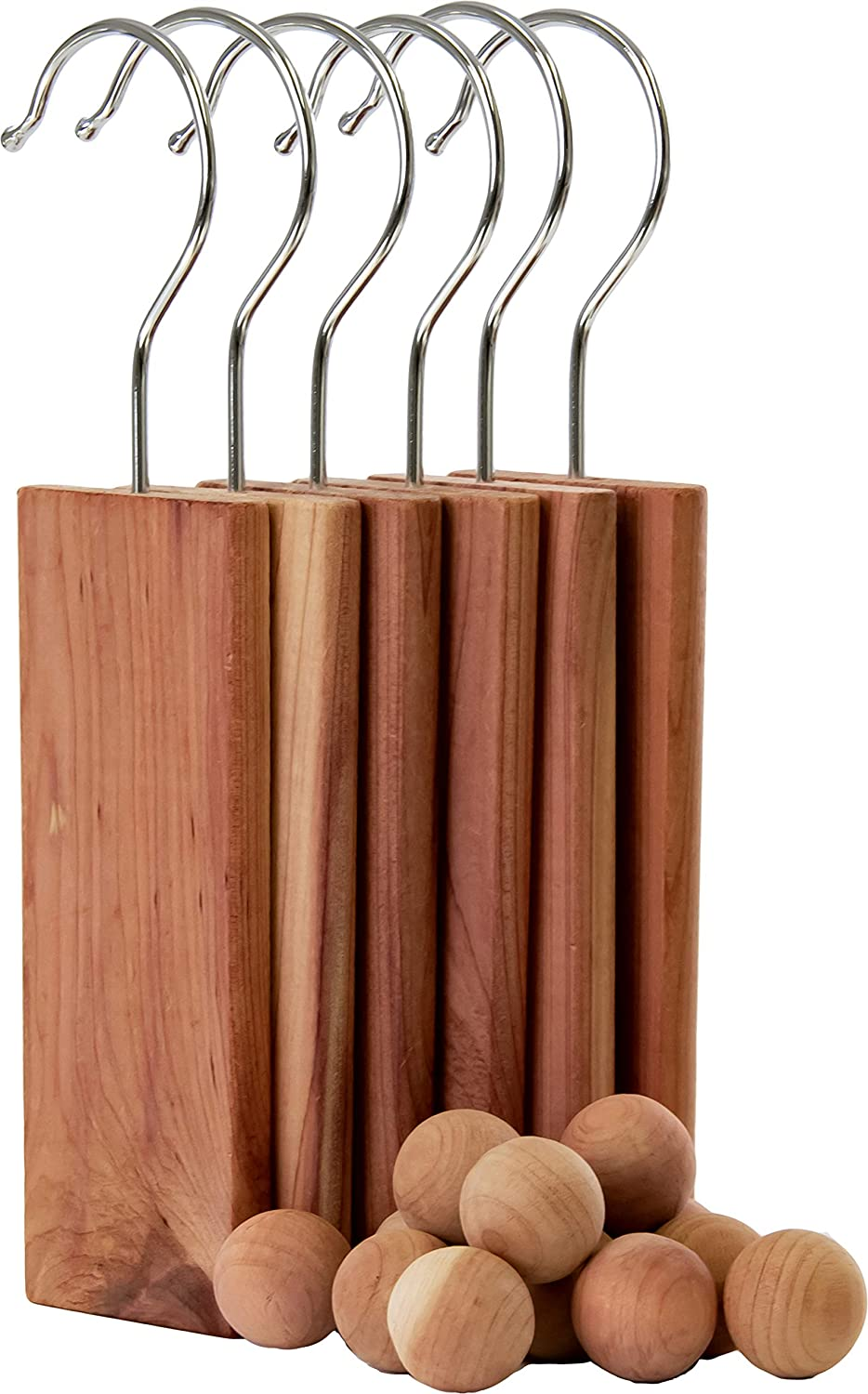 Laundry Solutions by Westex Cedar Closet Set with 6 Planks and 12 Balls