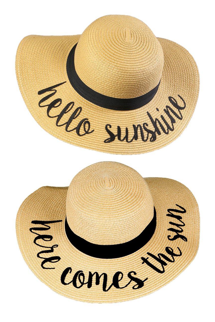 H-2017-2-HS.HCTS Sun Hat Bundle - Hello Sunshine, Here Comes The Sun
