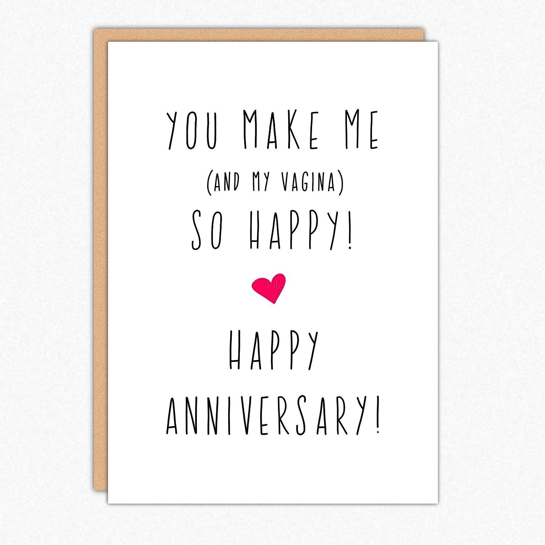 Amazon Funny Anniversary Cards For Boyfriend 173 You Make Me