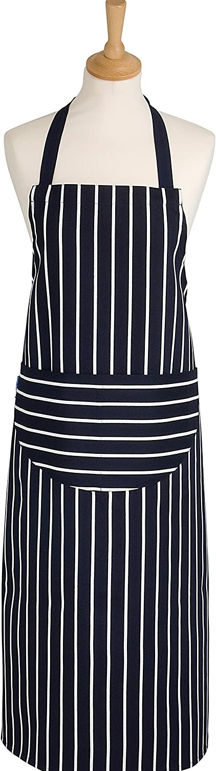 Rushbrookes Classic Butchers Stripe, Adult Apron, Long (99 x 68)