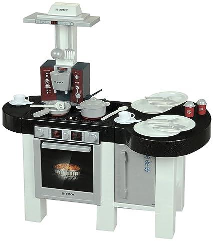 klein 9287 Bosch - Cocina con Nevera y cafetera de Juguete: Amazon ...
