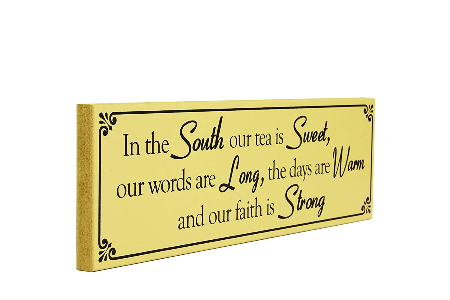My Word Bless Your Heart 5.5 x 5.5 Wooden Sign