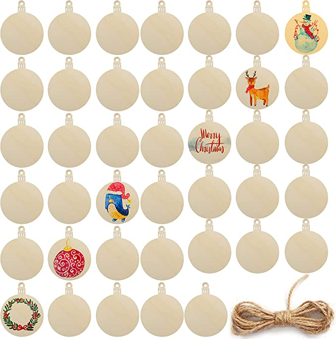 MILISTEN 100Pcs Unvollendete Halbe Holzkugeln Halbkugel Halbrunde Bastelkugeln f/ür Farbe DIY-Projekte Weihnachtsball Ornament Bastelkunst Liefert 15Mm