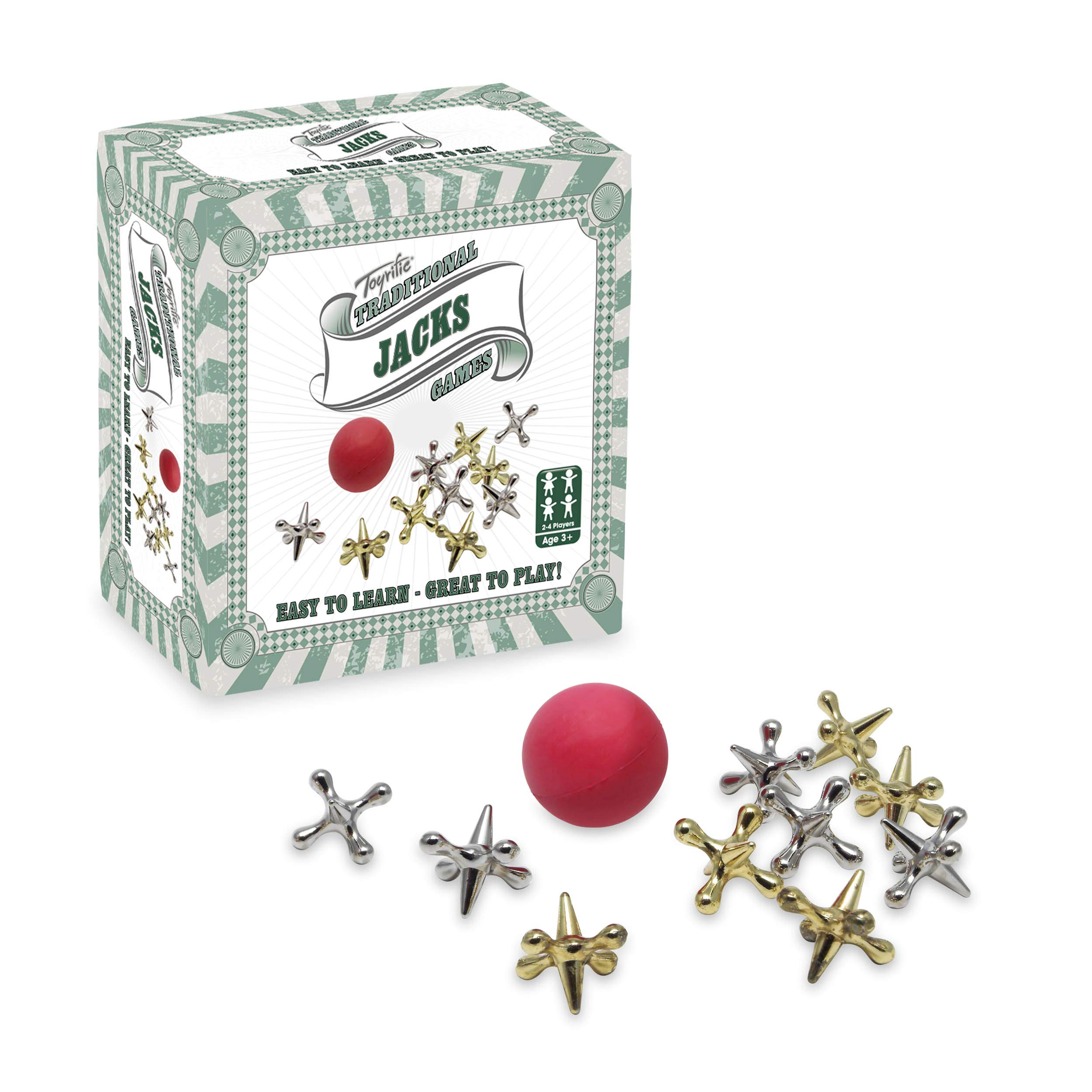 Toyrific Jacks Classic Kids Game Set - Individual Set