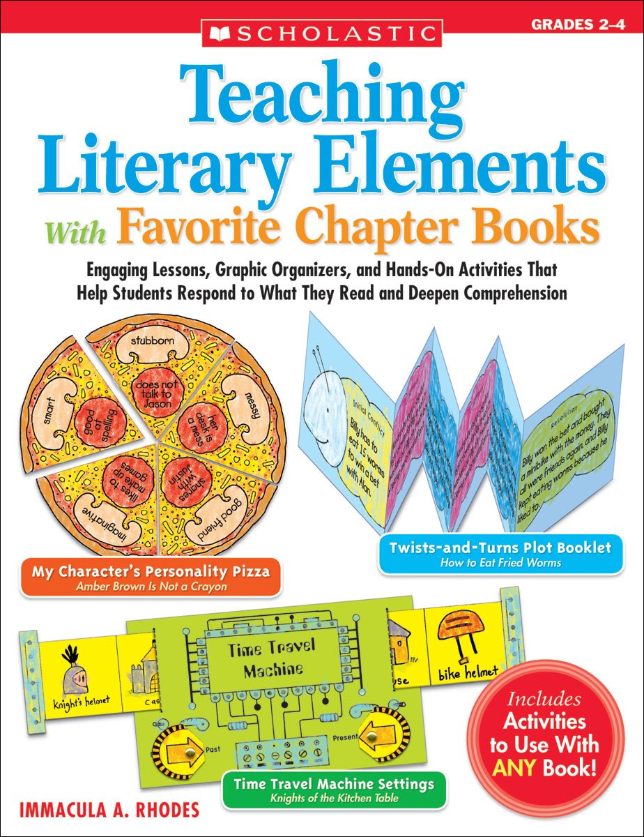 Teaching Literary Elements With Favorite Chapter Books Engaging