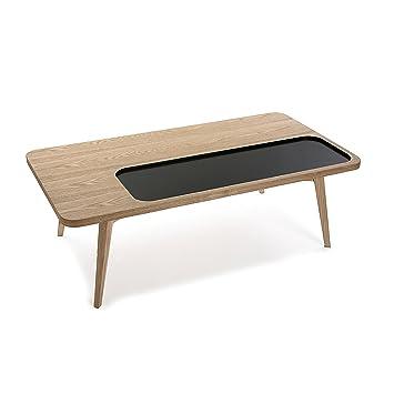 Versa 21090009 Table Central Argos Wood Black 110 X 60 X