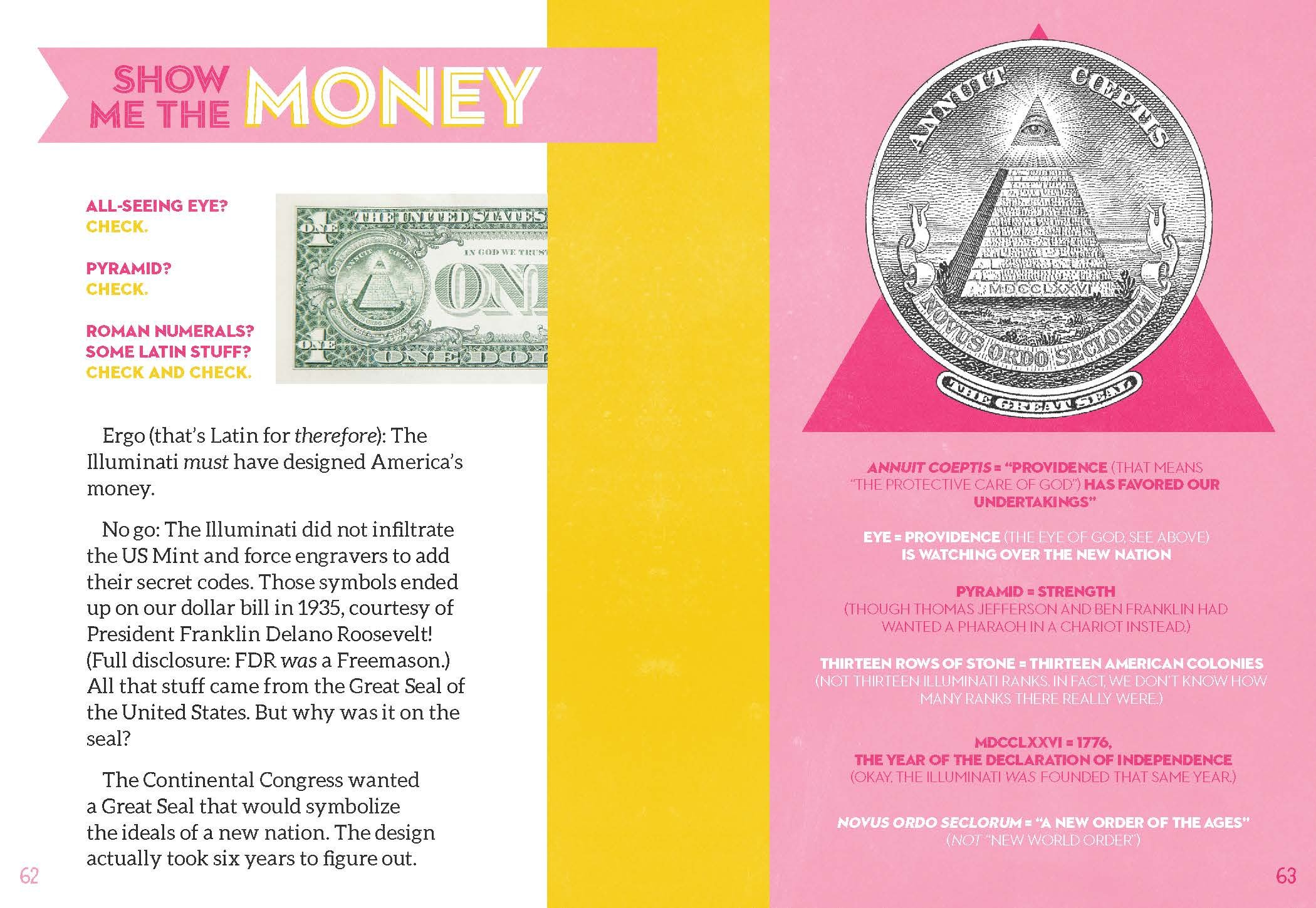 I Spy the Illuminati Eye: What's the Big Secret?: Sheila