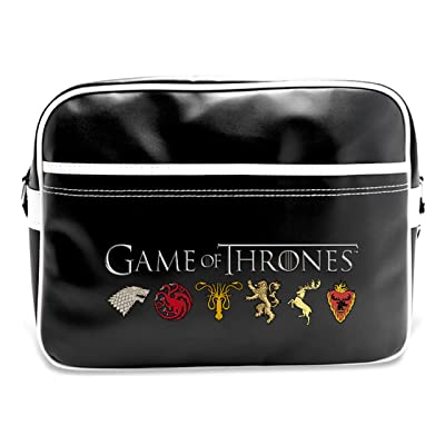 ABYstyle ABYBAG098 Sac Besace Game of Thrones Sigles Vinyle, 38 cm, 25 L, Multicolore
