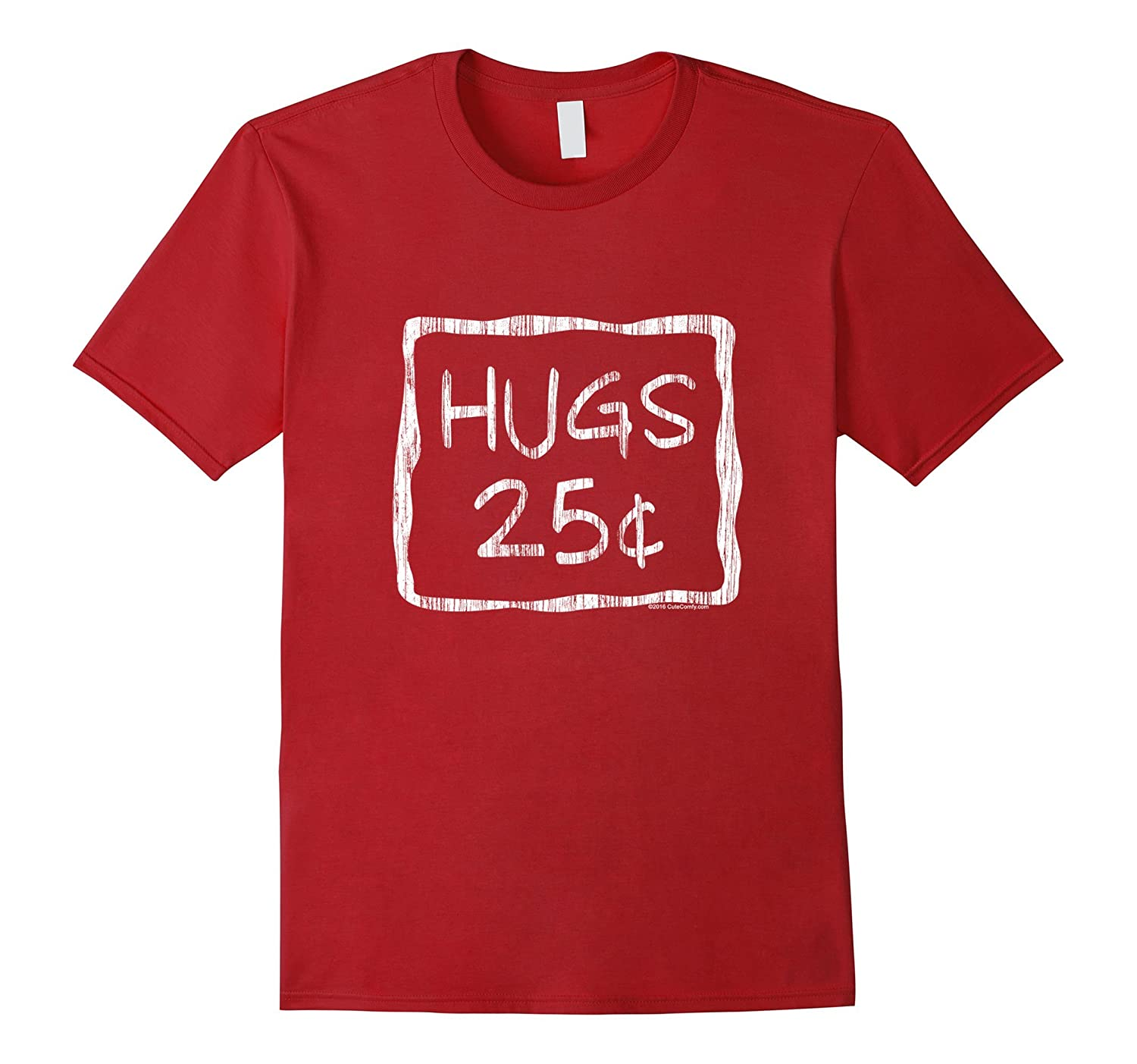 Cute Hugs 25 Cents Valentine's Day Shirt-CL