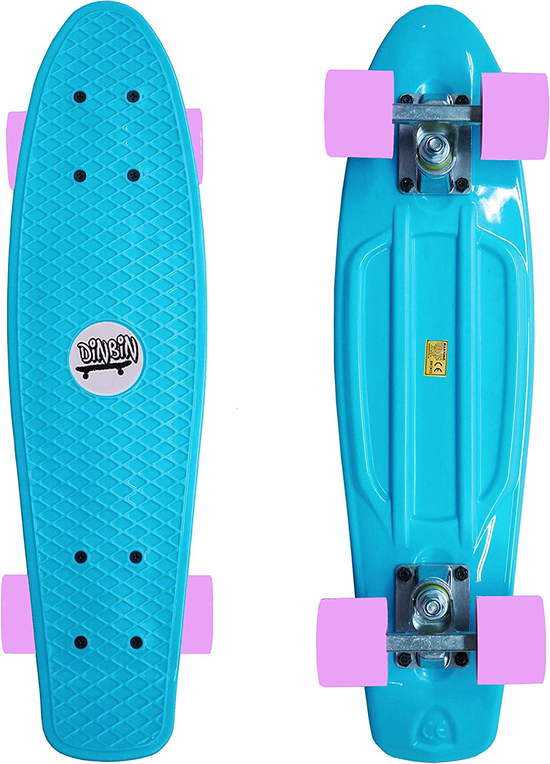 DINBIN Complete Highly Flexible Plastic Cruiser Board / US