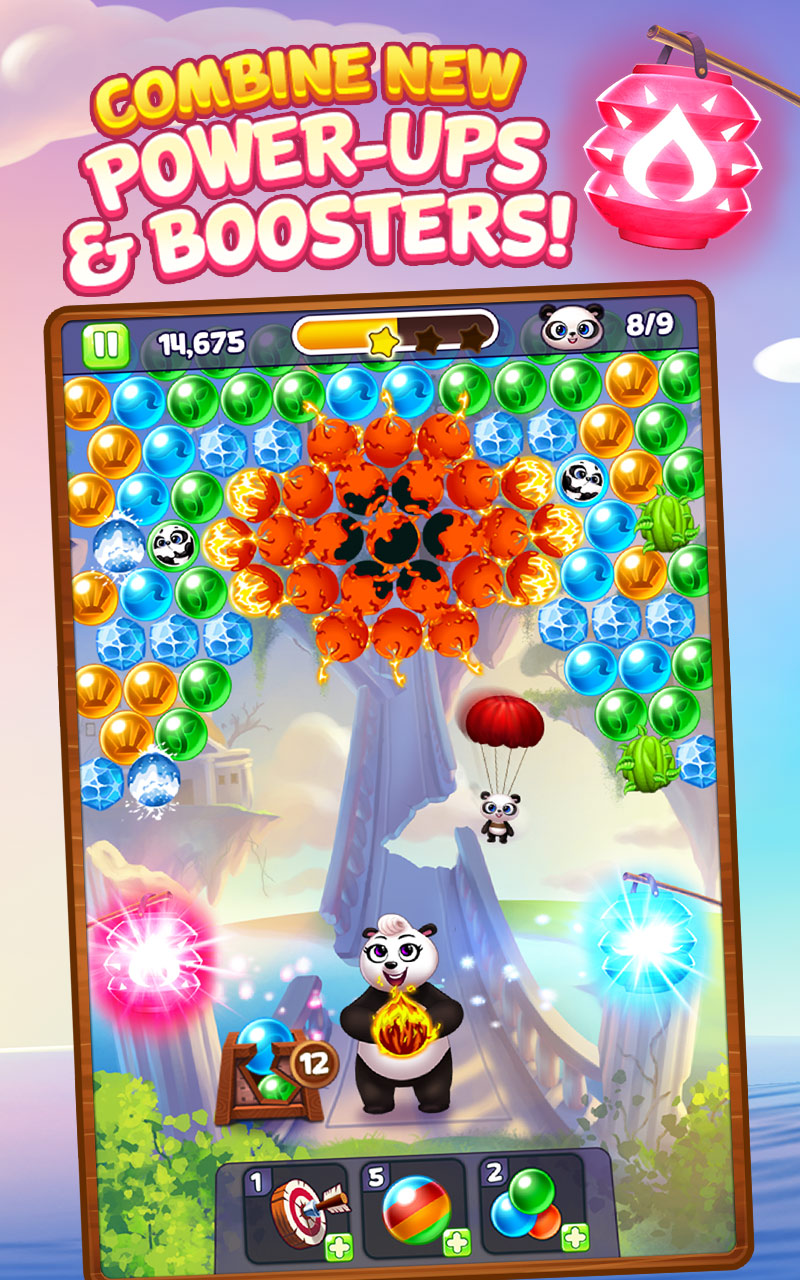 Panda Pop - Bubble Shooter Game! Blast, Shoot Free