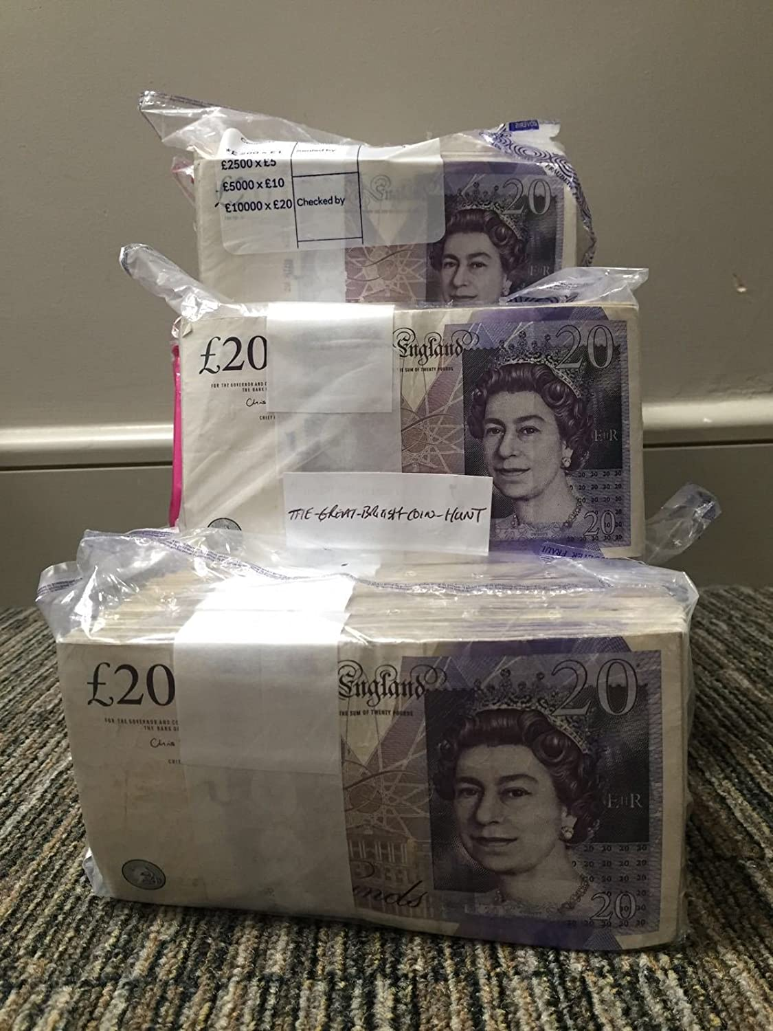 TGBCH One Single VGC pound;20 Note Random Serial Number Chris Salmon Trusted Seller