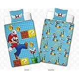 Parure de lit Mario - Housse de couette + taie