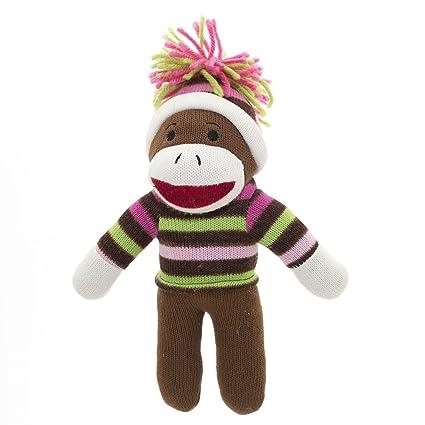 896330bfb Amazon.com: Texas Innovations Christmas Sock Monkey with Winter Hat ...