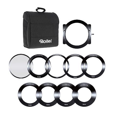 rollei filtri  Rollei Pro Sistema Portafiltro per Filtri Rettangolari da 100mm, per ...