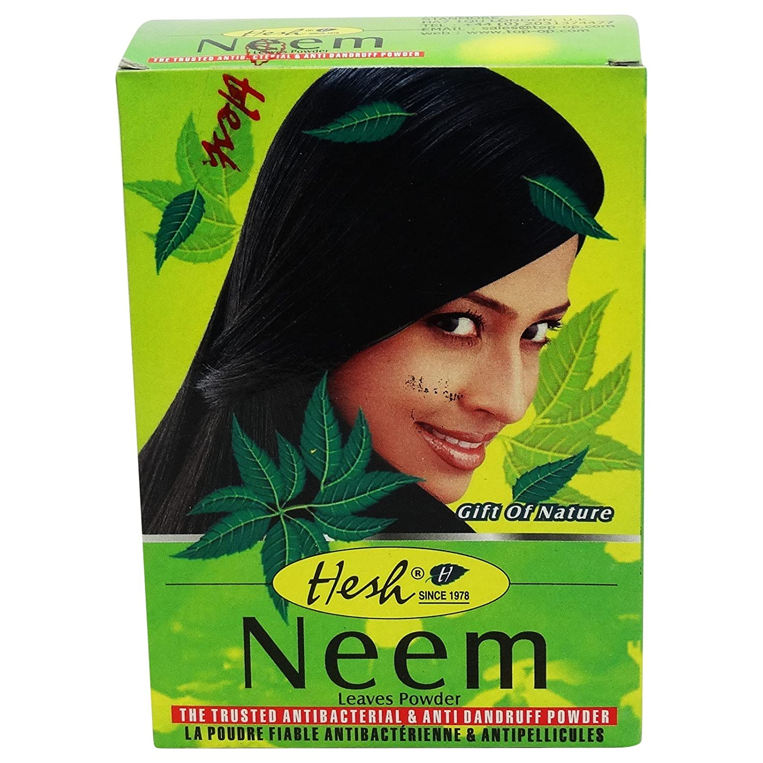 Neem Leaves Powder - Anti-bacterial Hesh