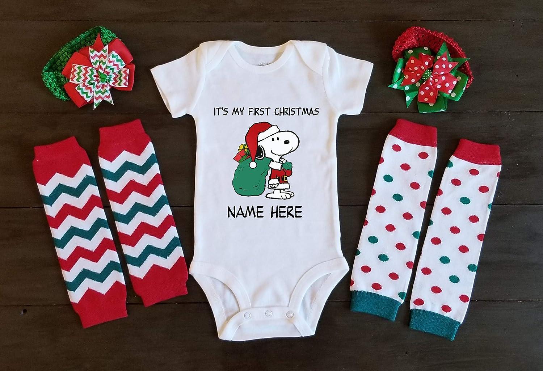 Amazon.com Christmas Onesie Infant Baby Shirt Snoopy