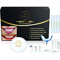 Noah Life Style - Teeth Whitening Kit USA FDA And UAE ECAS CERTIFIED Teeth Whitening Product.16x LED Light. Teeth…