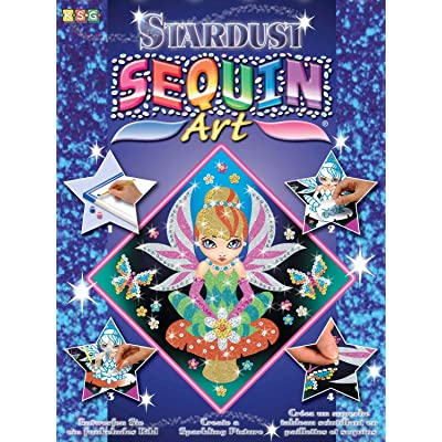 Sequin Art Stardust, Fairy Princess, Sparkling Arts and Crafts w/ Glitter, Creative Crafts: Toys & Games