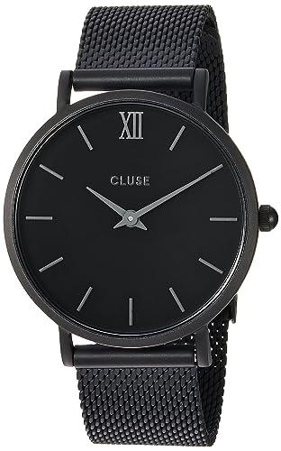 Cluse Reloj Analógico de Cuarzo para Hombre con Correa de Acero Inoxidable - CL30011: Cluse: Amazon.es: Relojes