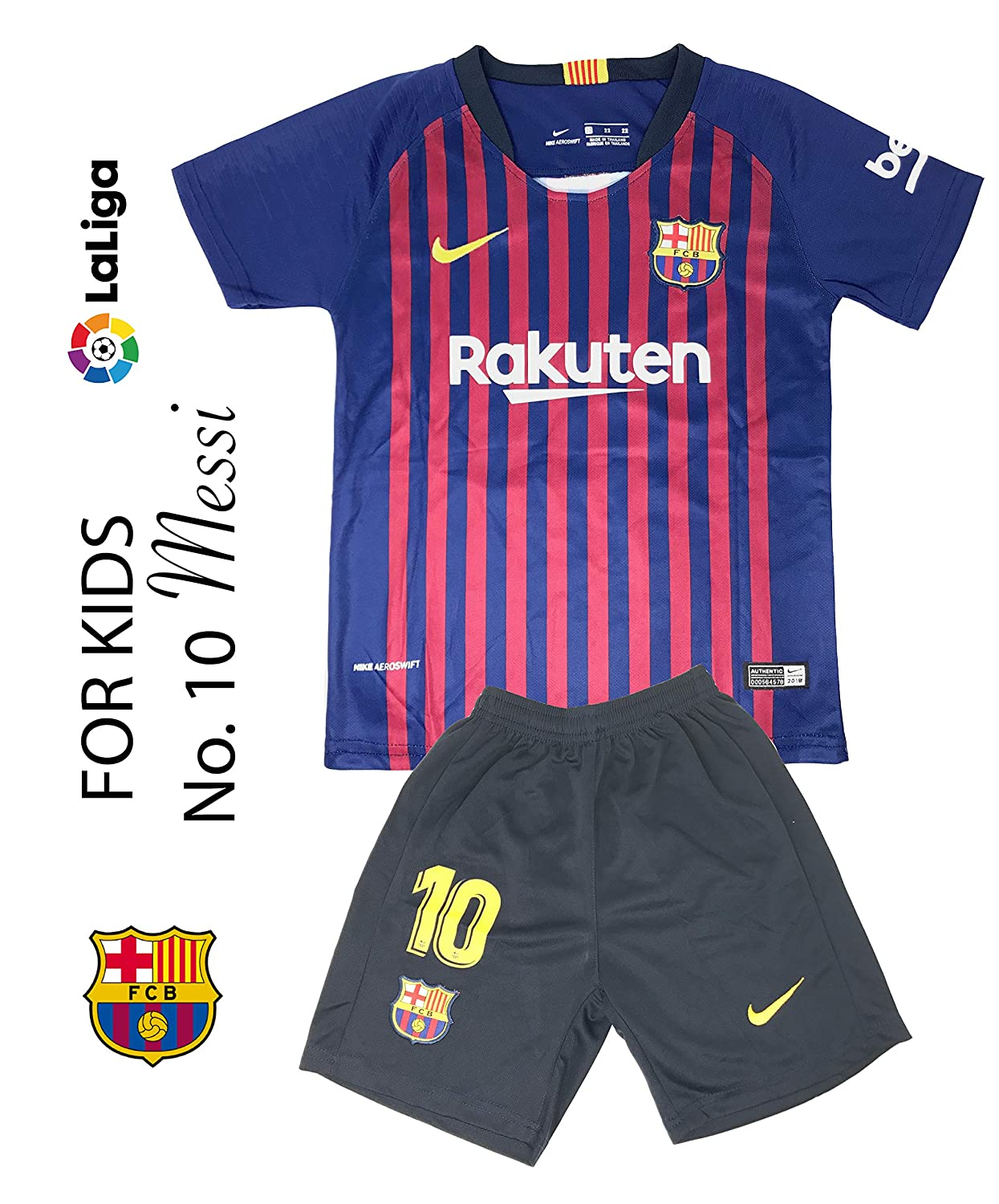 best sneakers e81fa ae303 The Soccer Jersey and Short for Kids on Season 2019 - Best Soccer KIT for  Kids - Juventus Ronaldo 7 - Barcelona FC 10 Messi - Real Madrid 10 Modric