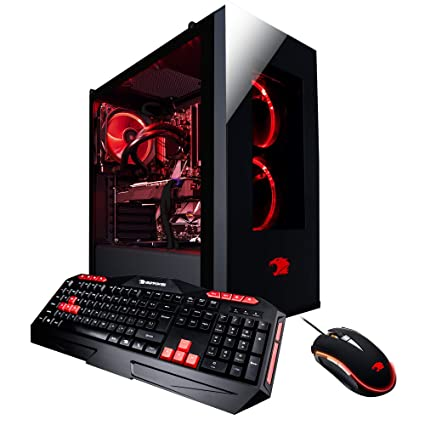 844eb149f08 iBUYPOWER Pro Gaming Desktop PC ELEMENT003i Intel i7-8700K 3.7 GHz, NVIDIA  Geforce GTX