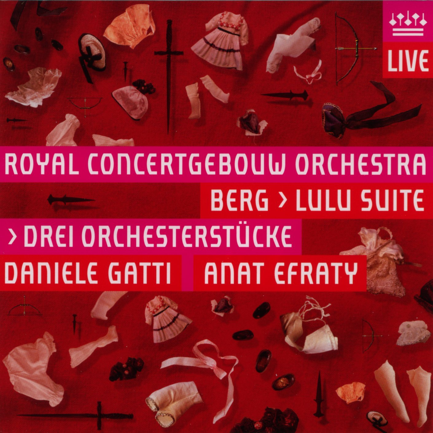 Berg: Lulu Suite / Drei Orchesterstücke (The Three Orchestral Pieces) by RCO