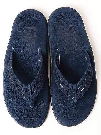Remi Relief x Island Slipper Sandals 11-33-0405-232: Indigo Navy Suede