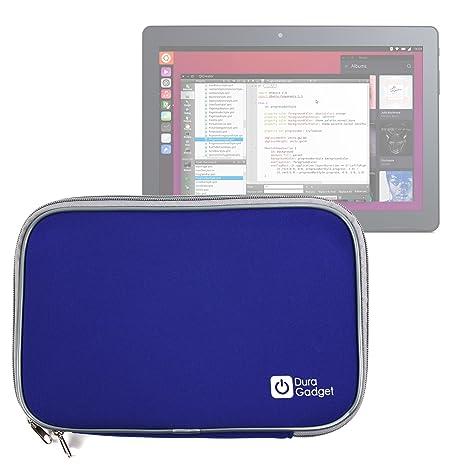 DURAGADGET Funda Azul De Neopreno para la Tablet BQ Aquaris ...