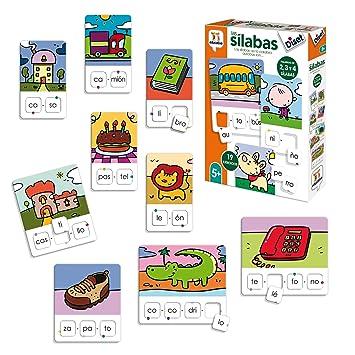 Diset Aprendo 5 Anos Juguete Educativos Las Silabas 68962 Amazon