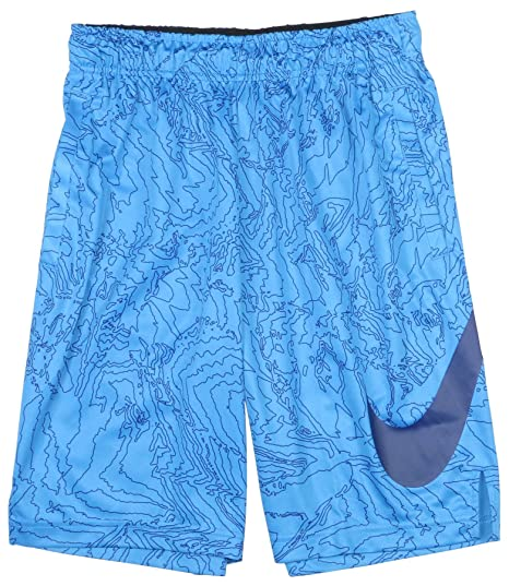76782caf4321 Amazon.com   Nike Big Boys  (8-20) Dri-Fit Fly Training Shorts-Blue ...