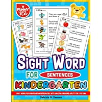 Sight Words for Kindergarten Reproducible with Amazing Engaging