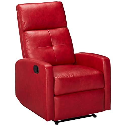 Small Leather Recliners: Amazon.com