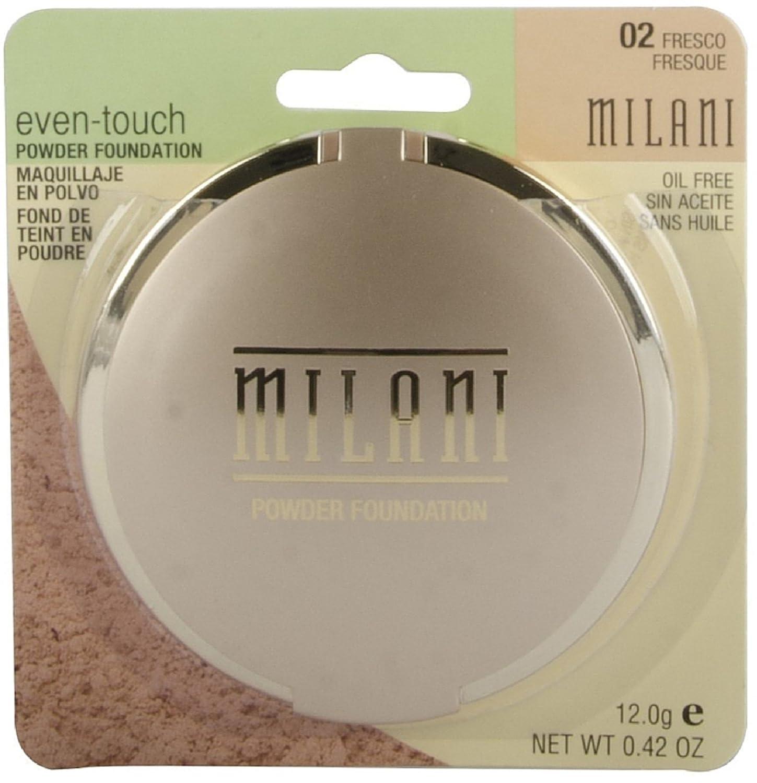 Amazon.com: Milani Even-Touch Powder Foundation-02/Fresco: Health & Personal Care